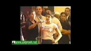Ahmad Deedat answer shocked a girl - www.zakirnaik.net