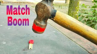 How to make a very easy match bomb loud firecracker with matches RBB