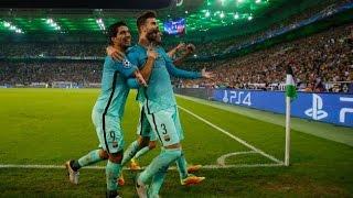 Borussia Mönchengladbach vs Barcelona 1-2 UCL Highlights 28/07/2016