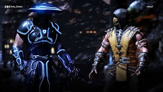 getlinkyoutube.com-Raiden vs Scorpion - Mortal Kombat X Online