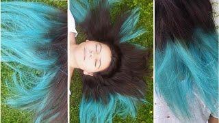 getlinkyoutube.com-First time Dip Dye - DIY