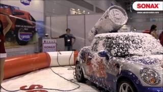 2014 국제그린카전시회 소낙스 버블세차쇼