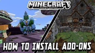 getlinkyoutube.com-[0.16.0+] How To Install Addons By Mojang in Minecraft PE [Android]