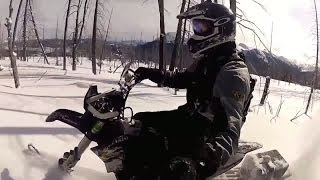 getlinkyoutube.com-Снежный кроссовый мотоцикл