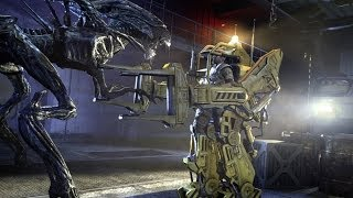 getlinkyoutube.com-Aliens: Colonial Marines - Mission 5: The Raven
