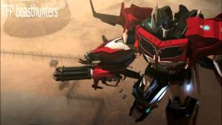 "getlinkyoutube.com-Transformers prime beast hunters: ""Minus One"" Soundwave gets captured"