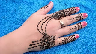 getlinkyoutube.com-Mehndi Designs for Back Hands - Ornamental Mehndi Designs for Back Hands - आकर्षक मेहंदी डिज़ाइन