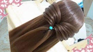 getlinkyoutube.com-peinados recogidos faciles para cabello largo bonitos y rapidos con trenzas para niña para fiestas87