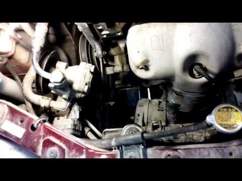 Где компрессор кондиционера в Хендай i20
