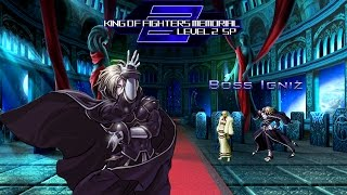 getlinkyoutube.com-[KOF Memorial Lv.2 SP GamePlay] Team Orochi (Cpu) vs Boss Igniz (Me)