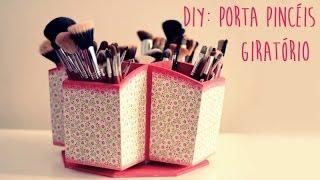 getlinkyoutube.com-DIY: Porta Pincéis Giratório