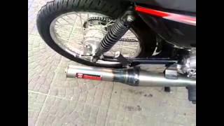 getlinkyoutube.com-Suzuki ax 100 con escape bennasar