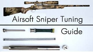 getlinkyoutube.com-How to Upgrade an Airsoft Sniper - Tuning Guide