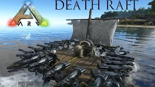 getlinkyoutube.com-Ark: Survival Evolved - Raft of Death! Ultimate Battleship!