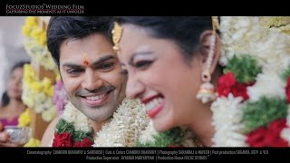getlinkyoutube.com-Actor Ganesh Venkatram & Nisha Krishnan - Fairytale Wedding