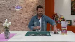 getlinkyoutube.com-Martin Muñoz - Florero decorado con gemas