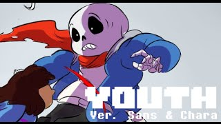 getlinkyoutube.com-【Undertale】Youth ver. Sans & Chara (Lyric Comic)