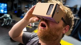 getlinkyoutube.com-Hands-On with Google Cardboard Virtual Reality Kit