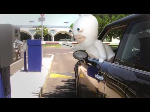 Rabbids - Daily Life - Car park [UK]