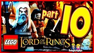 getlinkyoutube.com-Lego the lord of the rings - Walkthrough Part 10 Warg Attack Gandalf