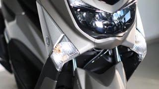 getlinkyoutube.com-Yamaha NMax 155 CC ABS Blue Core