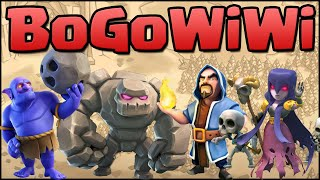 getlinkyoutube.com-BoGoWiWi Attack Strategy with the Bowler! Clash of Clans - Live TH11 War Attacks