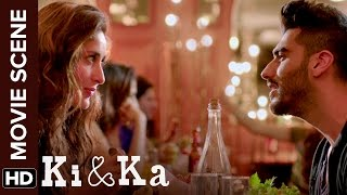 Arjun's way of romance | Ki & Ka | Arjun Kapoor, Kareena Kapoor | Movie Scene