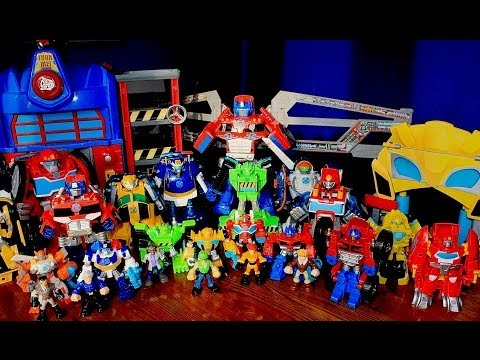 Massive Collection Transformers Rescue Bots Toys - Close to