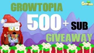 getlinkyoutube.com-GrowTopia   500+ Subs Giveaway! w/ SweGamerHD