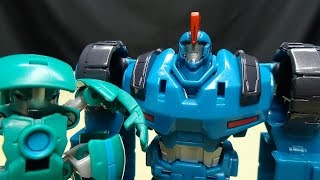 getlinkyoutube.com-Robots in Disguise 2015 Mini-Con Deployer OVERLOAD & BACKTRACK: EmGo's Transformers Reviews N' Stuff
