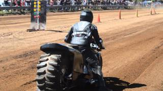 getlinkyoutube.com-Top Fuel Motorcycle Dirt Drag Racing