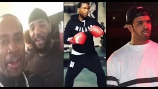 getlinkyoutube.com-Safaree & The Game Announce They Want To Fight Meek Mill In Drake's Place 🥊