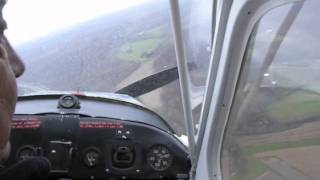 getlinkyoutube.com-Do or Die Deadstick (1946 Aeronca Champ)