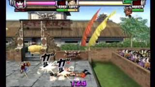 Battle Stadium D.O.N - Lee vs Goku vs Luffy vs Naruto