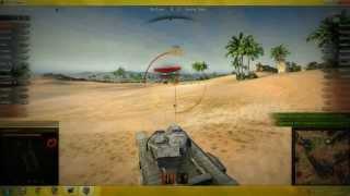 getlinkyoutube.com-World of Tanks Churchill VII gameplay - Sand River
