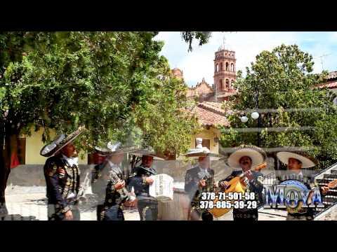 DISCULPE USTED DE JULION ALVAREZ Y SERGIO VEGA CON EL MARIACHI MOYA