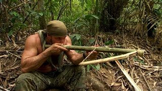 getlinkyoutube.com-DIY Survival: Make a Crossbow from Scratch | Dual Survival
