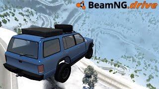 getlinkyoutube.com-BeamNG.drive - SNOWY MOUNTAIN
