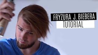 getlinkyoutube.com-Jak układać fryzurę z grzywką - Justin Bieber hairstyle