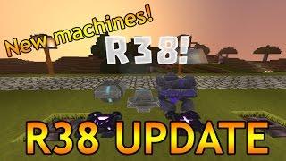 R38 UPDATE - NEW CREATIVERSE UPDATE!!! - Block Phaser, Sensor Block, Mob Spawner and more!