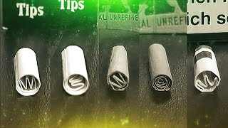 getlinkyoutube.com-How to make a filter tip | #GermanWeedBoys