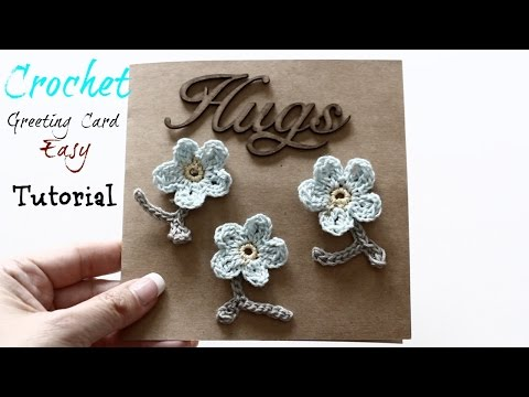 Mother's Day Crochet Greeting card