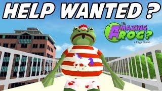 getlinkyoutube.com-Amazing Frog - E01 - JOB HUNTING! (Silly Role-play 1080p)