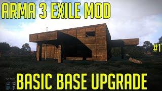 getlinkyoutube.com-Arma 3 Exile Mod - Base building - Basic Base Upgrade #2