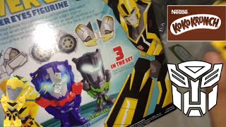 getlinkyoutube.com-Koko Krunch with Free Transformers Robot In Disguise Figuri