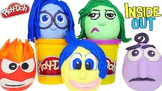 getlinkyoutube.com-Opening Play Doh Disney Pixar Inside Out Movie Surprise Eggs - Disgust Anger Joy Sadness Fear