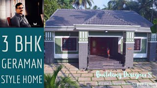 getlinkyoutube.com-3 BHK,1400 sq ft,20 Lakh ,German Style beautiful House