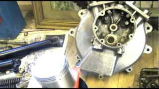 getlinkyoutube.com-Motorcycle Restoration: Matchless Engine Build 2/4