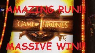 getlinkyoutube.com-**SUPER AMAZING RUN**$1,000+ BONUS COLLECTION** Game of Thrones Slot Machine