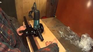 getlinkyoutube.com-6. Как идеально ровно раскраивать болгаркой листовую сталь и другие материалы